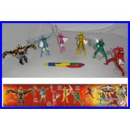 SET 6 Figure POWER RANGERS Mystic Force WIZARDS Gashapon BANDAI Super Sentai