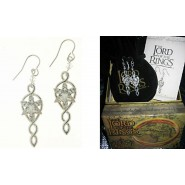 Lord Of The Rings ARWEN EARRINGS Official ORIGINAL Lotr Evenstar