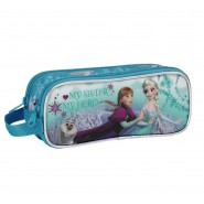 FROZEN PENCILCASE 20x8cm With 23 Pieces ELSA ANNA Disney