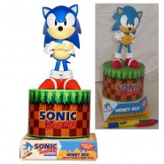 SONIC The HEDGEHOG Salvadanaio MONEY BOX Originale FIGURA Paladone