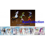SAINT SEIYA Rare SET 6 Figures ATHENA and 5 BRONZE SAINTS Bandai GASHAPON