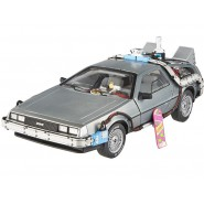 RITORNO FUTURO Auto DELOREAN e Hover Board 1:18 MATTEL Hot Wheels ELITE Die Cast