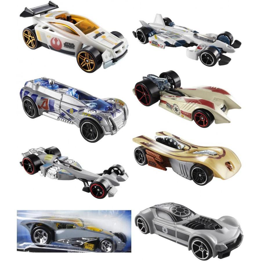star wars set 8 car models 1 64 hot wheels clone rebels. Black Bedroom Furniture Sets. Home Design Ideas