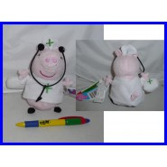 Plush Soft Toy PEPPA PIG NURSE 15cm With SOUND Original
