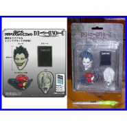 DEATH NOTE Set 4 MAGNETS Ryuk, Rem, Ryuk's Red Apple and Death Note
