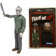VENERDI 13 Figura Action JASON VOORHEES 10cm Funko ReACTION Friday 13th HORROR