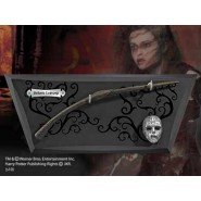 Harry Potter BACCHETTA MAGICA BELLATRIX LESTRANGE Special Edition DISPLAY MURO Noble Collection