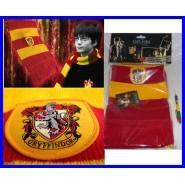 """Harry Potter SCIARPA GRIFONDORO Versione Rossa """"CLASSIC"""" 190cm Originale e Ufficiale"""