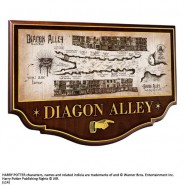 HARRY POTTER 3D Poster WALL PLAQUE DIAGON ALLEY Official NOBLE COLLECTION