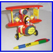 BIPLANO ZIO PAPERONE Gadget Topolino UNCLE SCROOGE Airplane 2013 MINT NEW DISNEY