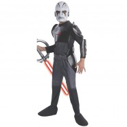 COSTUME Dress INQUISITOR Boy Child DELUXE Star Wars Rebels RUBIE'S