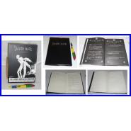 Death Note STUPENDO Book DIARIO con PIUMA QUADERNO Libro Dei Morti YAGAMI Nuovo