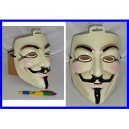 MASK Guy Fawkes V  Carnevale ANONYMOUS OCCUPY Indignados