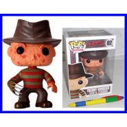 FREDDY KRUEGER Figura Collezione NIGHTMARE 15cm POP 02 Deformed Vinile FUNKO New