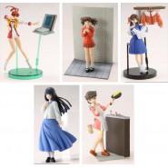 RARO SET 5 TRADING Figures YUSHA HEROINE Girls BRAVE SAGA Robot CM'S Japan