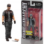 SONS OF ANARCHY Figura CLAY MORROW Exclusive 15cm Ufficiale MEZCO Figure NEW