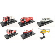 MODELLINO Die Cast POMPIERI Vigili Fuoco FIREFIGHTER Metal Model VEHICLE VEICOLI