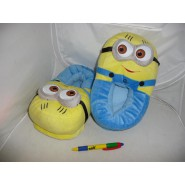 Pair of SLIPPERS MINION Minions 2015 Despicable Me BOB STUART KEVIN