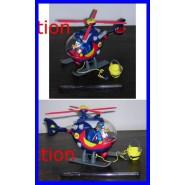 RARE Premium Gadget Playset HELICOPTER PAPERINIK Donald Duck Super Hero DISNEY Italy