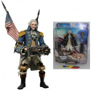 MOTORIZED PATRIOT Action Figure BIOSHOCK INFINITE George Washington 23cm NECA USA