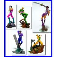 RARO Set 5 Figure Colorate JOJO BIZZARRE AVVENTURE Bandai JP Trading Figures