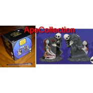 SET 2 Figure Ceramica Porta SALE e PEPE JACK SALLY Nightmare Before Xmas NBX Neca