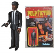 PULP FICTION Figura Action JULES Samuel L Jackson 10cm Originale FUNKO ReACTION