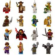 MINI LEGO Figures SERIE 13 SET Completo 16 FIGURE Nuove Bustina