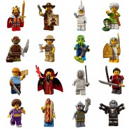 MINI LEGO Figures SERIE 13 Complete SET 16 FIGURES