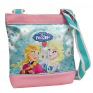 FROZEN Borsa Tracolla 23x22cm Originale ELSA ANNA DISNEY Hand Bag UFFICIALE New