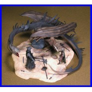 Signore Anelli PELENNOR FIELDS FELL BEAST Playset AOME PLAY ALONG LOTR Hobbit