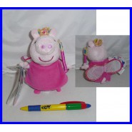 Peluche PEPPA PIG PRINCIPESSA 15cm SONORO Originale NUOVO Plush SOUND Original