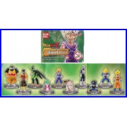 SET 10 Figure DRAGONBALL Z MINI Collection 7 Gohan VS Cell BANDAI Full Color