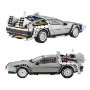 Modello AUTO DeLorean RITORNO AL FUTURO 2 Scala 1/43 Hot Wheels ELITE