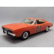 HAZZARD Modello SNAP KIT Auto GENERALE LEE 1969 Dodge Charger 1/25 MPC