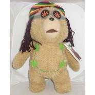 Peluche PARLANTE 45cm TED ORSO VOLGARE Versione RASTA Bear
