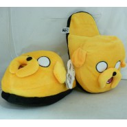 ADVENTURE TIME Stupende Pantofole JAKE CANE Nuove SLIPPERS Ciabatte PELUCHE ADULT Size