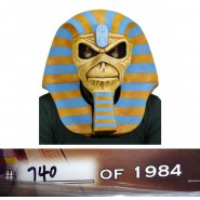Maschera Lattice IRON MAIDEN Eddie 1984 Powerslave 30th ANNIVERSARY Limited NECA