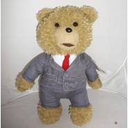 Peluche PARLANTE 30cm TED ORSO con Vestito Elegante SMOKING