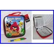 ANGRY BIRDS Stupendo LUNCH BOX TERMICO Thermos Pasto Caldo ORIGINALE ROVIO Nuovo