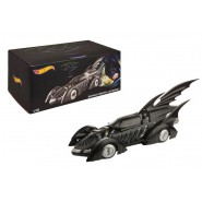 BATMOBILE Batman FOREVER Modello Auto Scala 1:18 MATTEL Hot Wheels HERITAGE BLY43