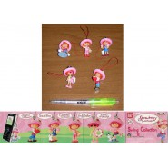 SET 5 Figure FRAGOLINA Dolcecuore STRAWBERRY SHORTCAKE with DANGLERS SWING Gashapon BANDAI