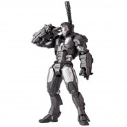 IRON MAN 2 Figura WAR MACHINE Kaiyodo REVOLMINI RM 006 Revoltech Yamaguchi NUOVA