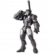 IRON MAN 2 Figura WAR MACHINE Kaiyodo REVOLMINI RM 006 Revoltech Yamaguchi NUOVA