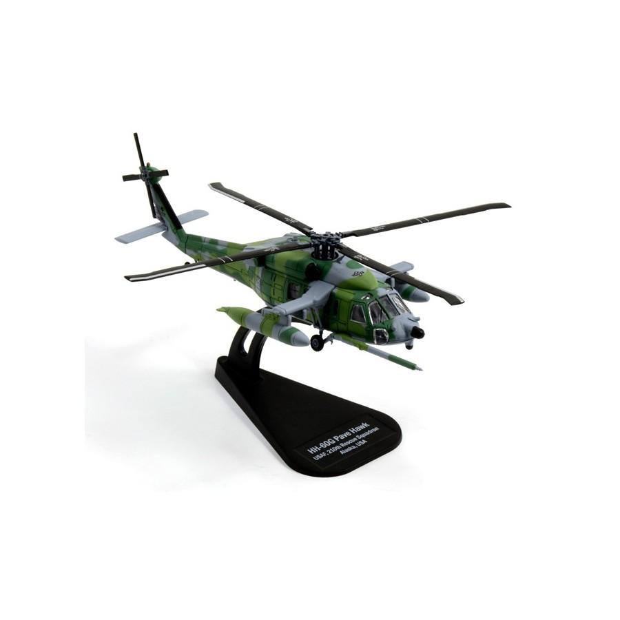 Elicottero 007 : Modello elicottero 1:100 usa hh 60g pave hawk diecast italeri boxed