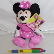 Peluche MINNIE Mouse CASA FIOCCHI Topolino 20cm ORIGINALE Ufficiale DISNEY Nuovo