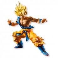 DRAGONBALL Styling Figura GOKU SUPER SAYAN 11cm ORIGINALE Ufficiale BANDAI