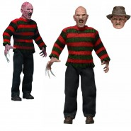 FIGURA Freddy KRUEGER da Nightmare on Elm Street 2 Retro DOLL Action Figure NECA Originale