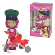 Bambola MASHA CON TRICICLO 12cm Orso ORIGINALE Simba Toys