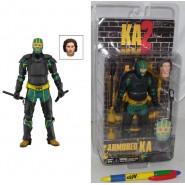 KICK-ASS 2 Figura Action ARMORED KA Dave Lizewski 17cm Originale NECA Serie 2